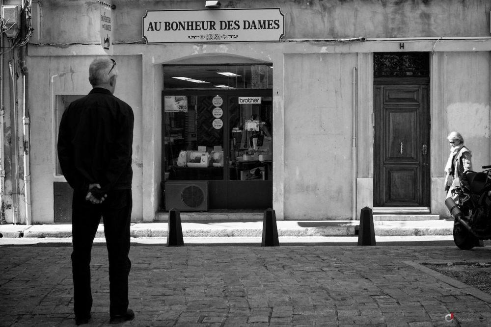Façade de la boutique Au bonheur des Dames, Aix en provence