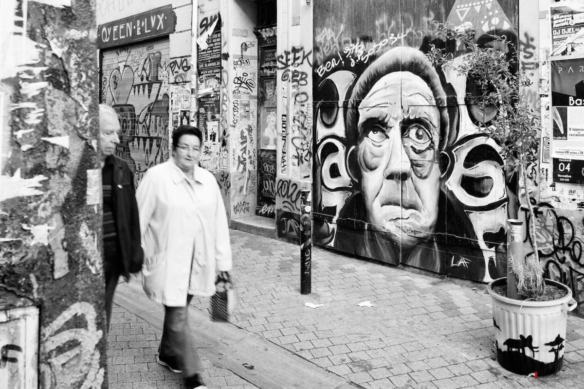 Quand Street Art et Street photo se rencontrent