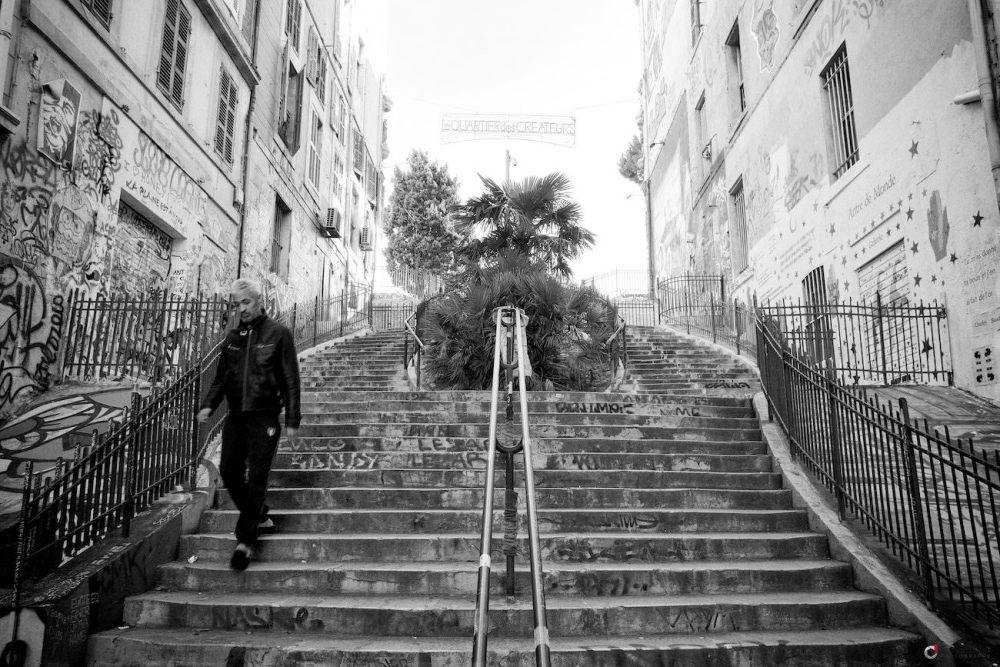 Escalier monumental cour julien