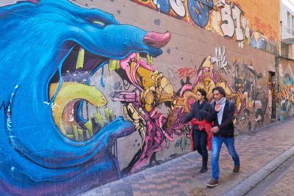 Graffitis à Marseille