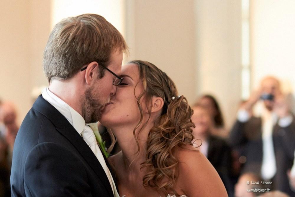 Baiser de mariage