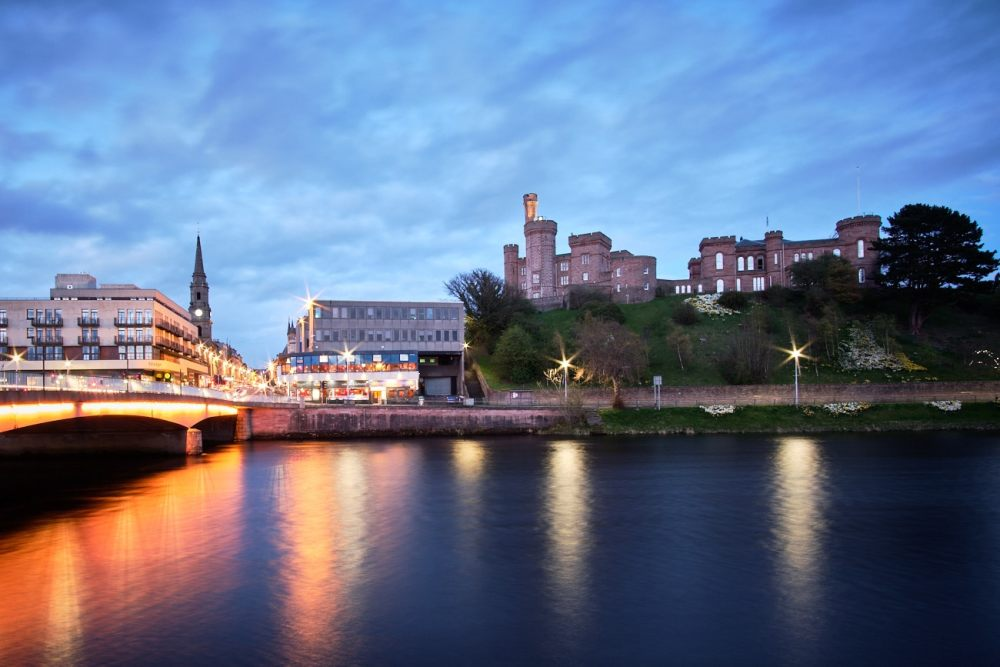 Roadtrip Scotland : Vue sur la ville d'Inverness
