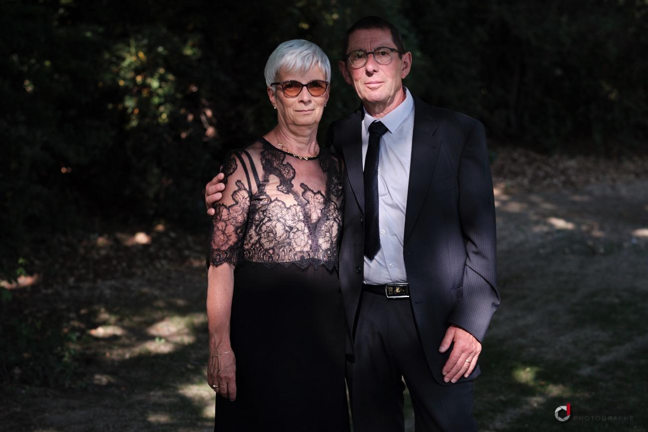 Les parents de la mariée
