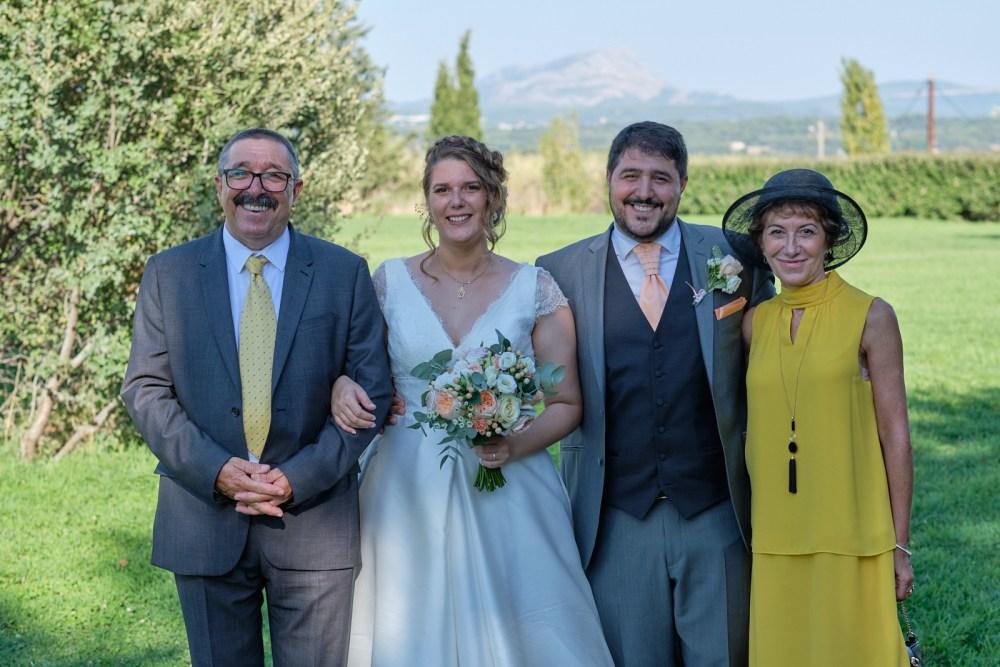 Les parents du marié