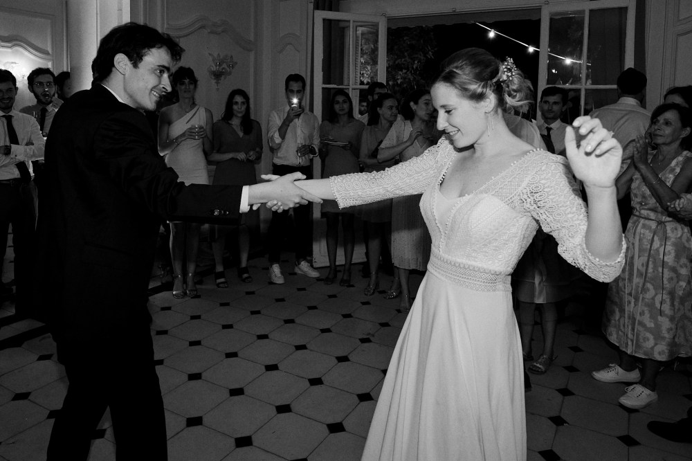 Première danse à Toulon