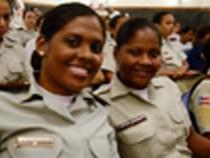 Policiais femininas querem igualdade de direitos