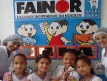 FAINOR faz ação social em escolas públicas