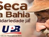 """União dos Municípios lança campanha """"Seca na Bahia"""""""