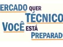 Inscrições para cursos técnicos de Educação Profissional