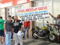 Seguranças em greve mantém agencias bancárias fechadas