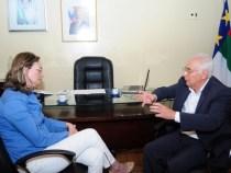 Ministra cumpre agenda em Vitória da Conquista