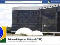 TSE tem página oficial no Facebook
