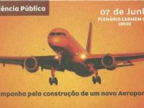 Audiência Pública: construção do novo aeroporto
