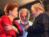 Dilma e Lula juntos em Salvador