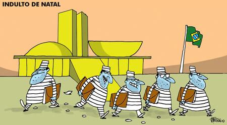 """""""Se houver indulto para criminosos neste ano, certamente será o último"""", diz Bolsonaro em rede social"""