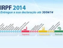 Imposto de Renda 2014: declarações até 30 de abril