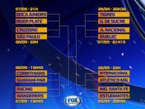 Libertadores: confira datas e horários das oitavas de final