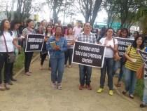 Educação Municipal: Professores fazem manifestação