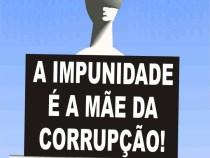 Apoio a medidas de combate à corrupção e à impunidade