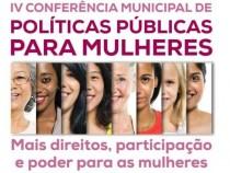 Conferência Municipal de Políticas Públicas para Mulheres