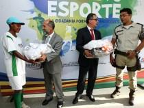 Projeto Na Base do Esporte é lançado na capital e interior