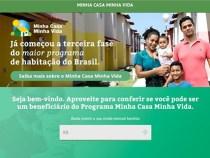 Site do Minha Casa Minha Vida simula financiamento e subsídio
