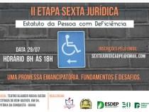 UESB: Seminário discute Estatuto da Pessoa com Deficiência