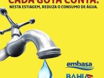 Ação EMBASA e UESB: consumo da água