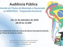 Evento discute admissão de títulos acadêmicos no Mercosul