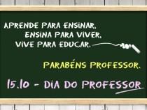 Dia do Professor comemorado com valorização