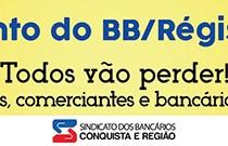 Bancários fazem manifestação no BB nesta sexta-feira, 25