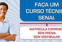 SENAI prorroga inscrições para os cursos técnicos pagos