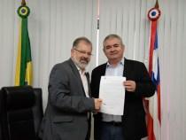 Assembléia tem novo presidente: Angelo Coronel