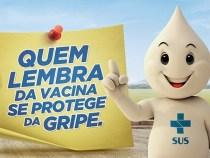 Na Bahia 19,1% do público-alvo se vacinou contra gripe