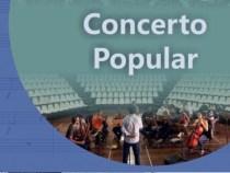 Concerto Popular será realizado neste domingo, 10