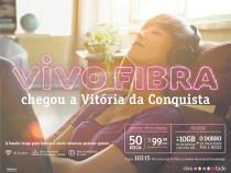 Vitória da Conquista na rota da Vivo Fibra