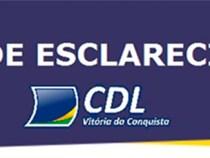 CDL emite Nota da Esclarecimento: 31 de maio Corpus Christi