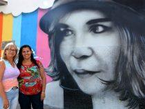 Escola Municipal ganha grafite em homenagem póstuma a Lêda Nova