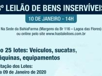 Prefeitura de Vitória da Conquista anuncia 3º leilão de bens inservíveis