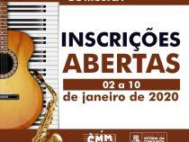 Conservatório Municipal de Música realiza seleção para novos alunos