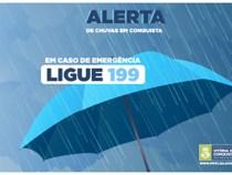 Vitória da Conquista em estado de alerta: previsão de fortes chuvas