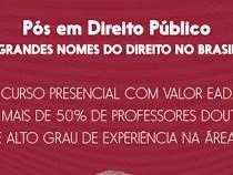FAINOR anuncia curso de Pós Graduação em Direito Público