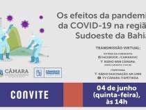 Impactos do Coronavirus na Região Sudoeste analisados em audiência pública
