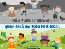 Prefeitura de Conquista inicia campanha contra o trabalho infantil