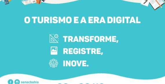 SENAC Vitória da Conquista realiza o 4º Forum Conectour Tema:Turismo e a Era Digital