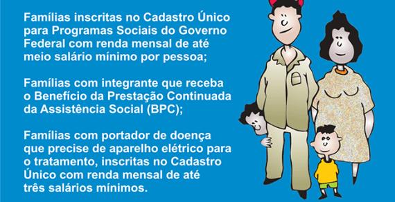 COELBA inseriu mas de 220 mil famílias na tarifa social desde o início da pandemia