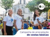 NEOJIBA realiza campanha de enfrentamento à fome