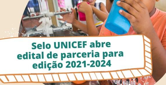 Municípios tem até o próximo domingo, 08 para se inscrever no programa Selo UNICEF