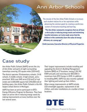 Ann Arbor Schools Case Study