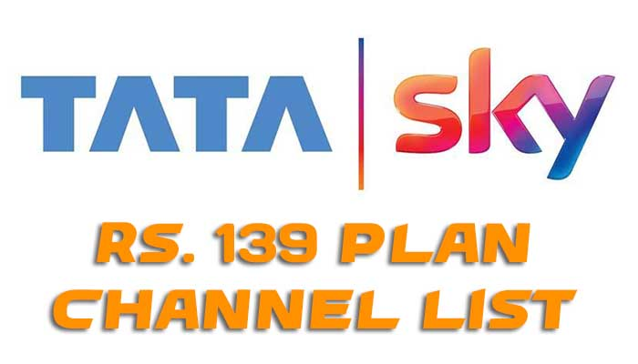 Tata Sky 139 Pack Channel List, Validity & Activation